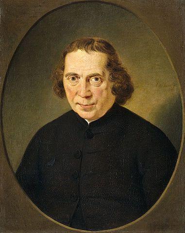 Portret van Jan Nieuwenhuyzen door Adriaan de Lelie.