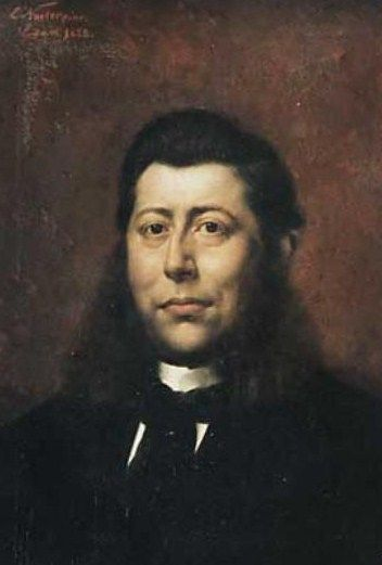Portret van wethouder W.J. Tuyn.