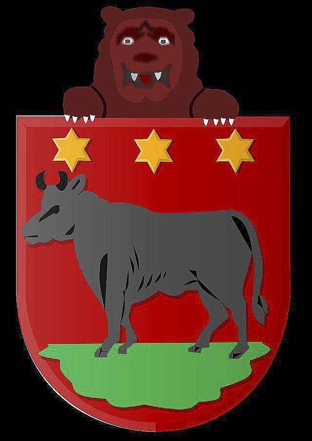 Het wapen van Edam (met beer).