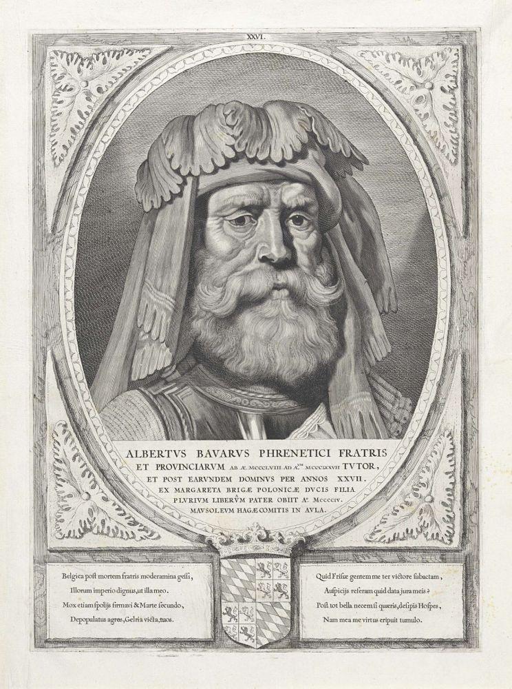 Hertog Albrecht van Beieren.
