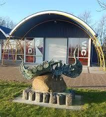 Vikingcentrum Wieringen.