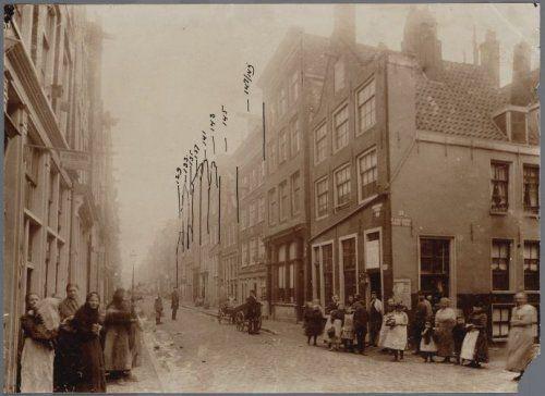 Goudsbloemstraat ca. 1895