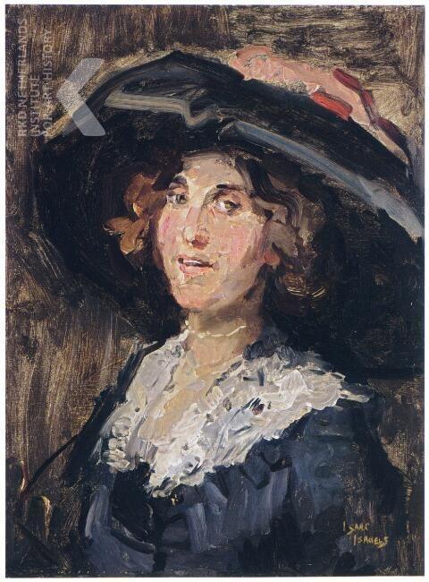 Sophie de Vries, Isaac Israels, ca. 1920