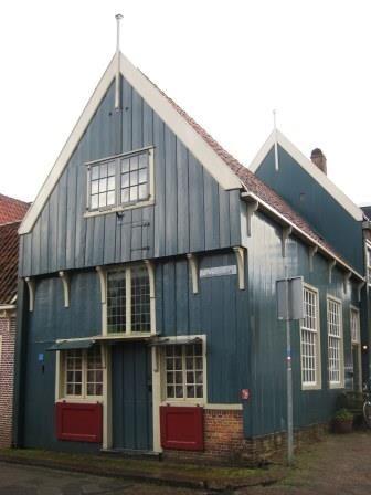 Oudste houten huis in Edam.