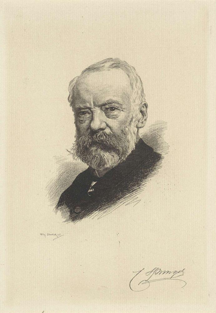 Portret van Cornelis Springer, Willem Steelink (II), 1866 - 1928