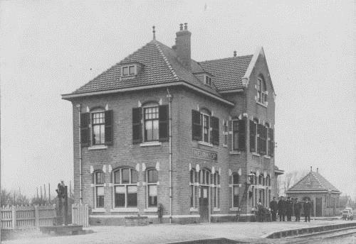 Station Nieuwkoop.