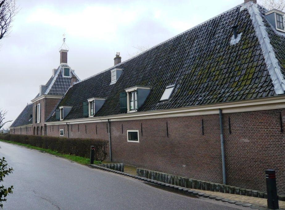 Het Gemeenlandshuis van Rijnland aan de Spaarndammerdijk.