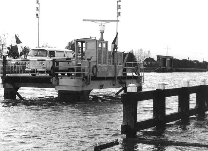 Pont over Merwedekanaal, 1939.