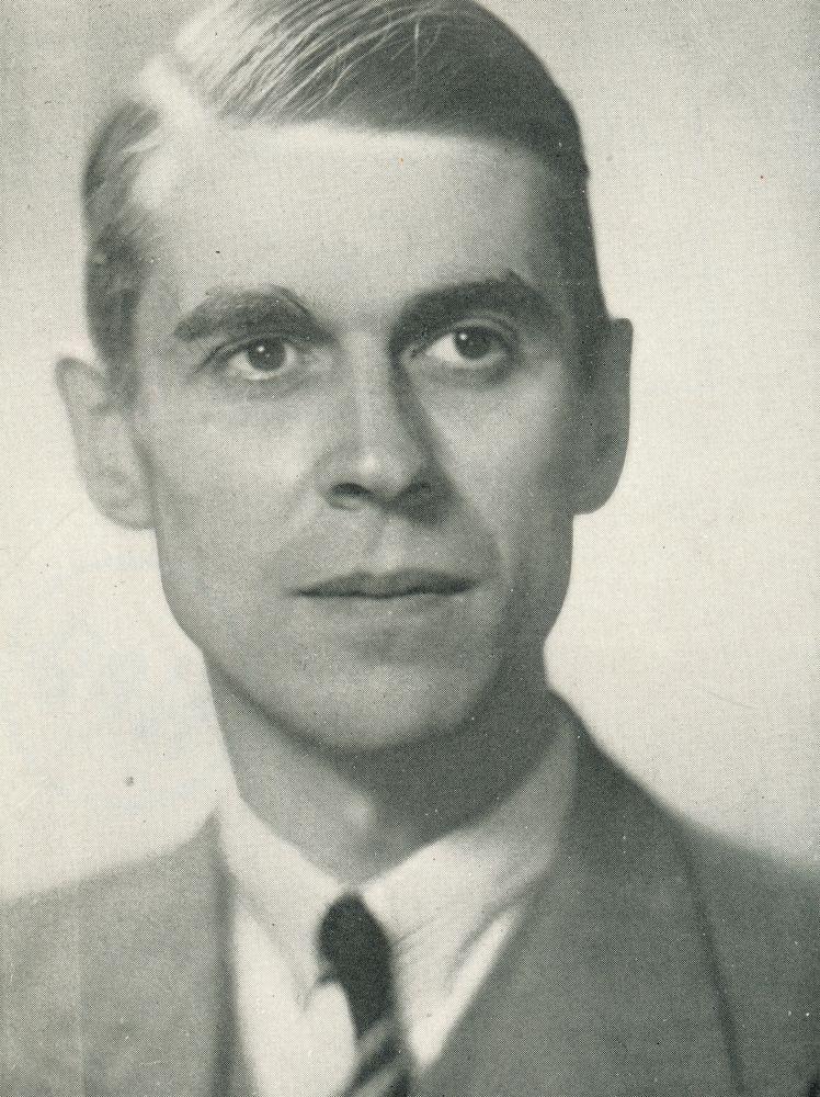 Portret van Walraven van Hall.