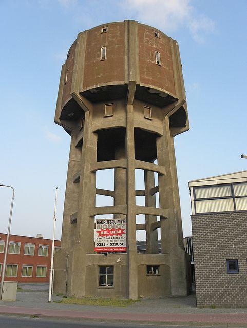 Watertoren Dokweg IJmuiden.