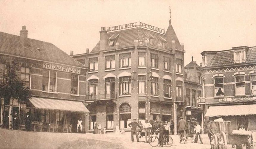 Hotel Restaurant Augusta in IJmuiden.