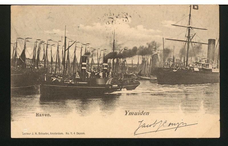 De raderstoomsleepboot Simson van Rederij Zur Mühlen en Co