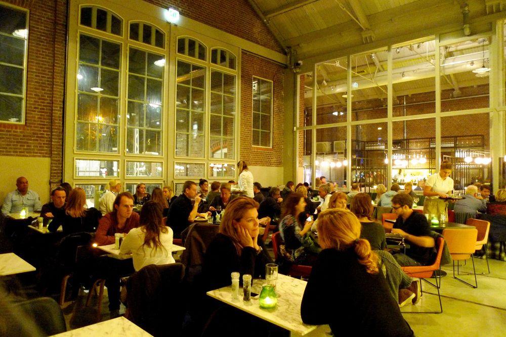 Foodhallen, De Hallen Amsterdam.