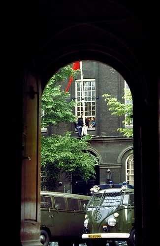 Bezetting van het Maagdenhuis (Amsterdam) door studenten van de UvA