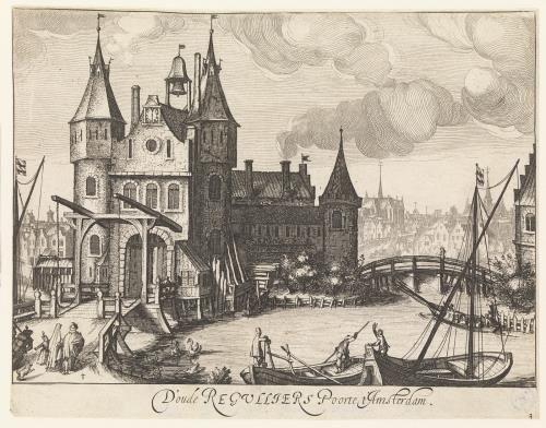 D'oude regulliers poorte t'Amsterdam.