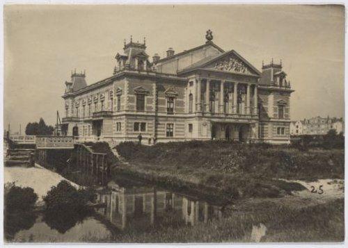 Het Concertgebouw aan de Van Baerlestraat.