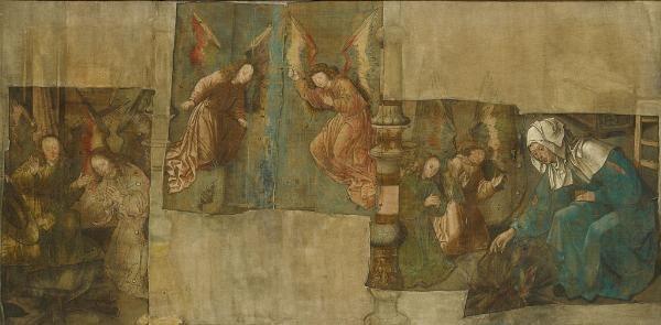 Het mirakel ter heilige stede, het wonder van de niet-verteerde hostie