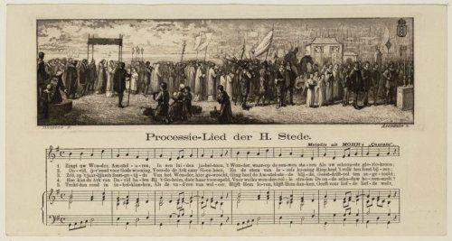 Processie-Lied der Heilige Stede