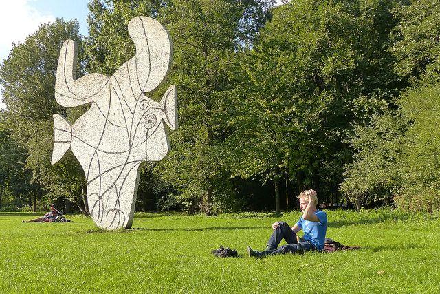 Een echte Picasso in het Vondelpark