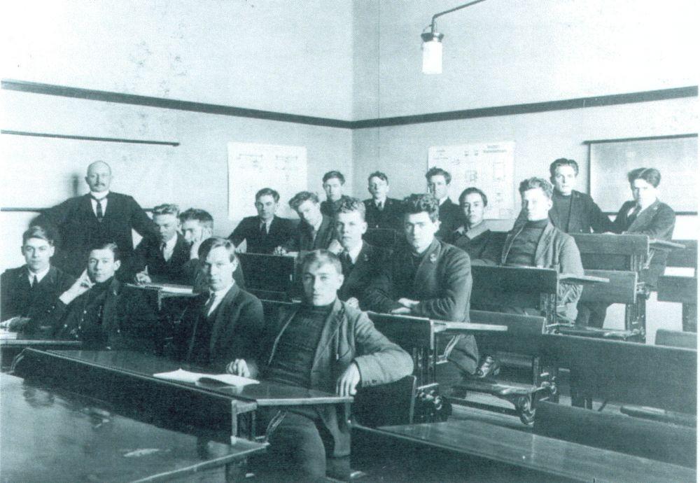 Zeevaartschool Terschelling - Foto: Collectie 't Behouden Huys, Terschelling