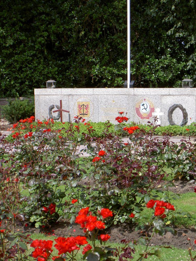 Erebegraafplaats De Hoge Berg, Texel - Foto: Collectie Ed Vermeulen