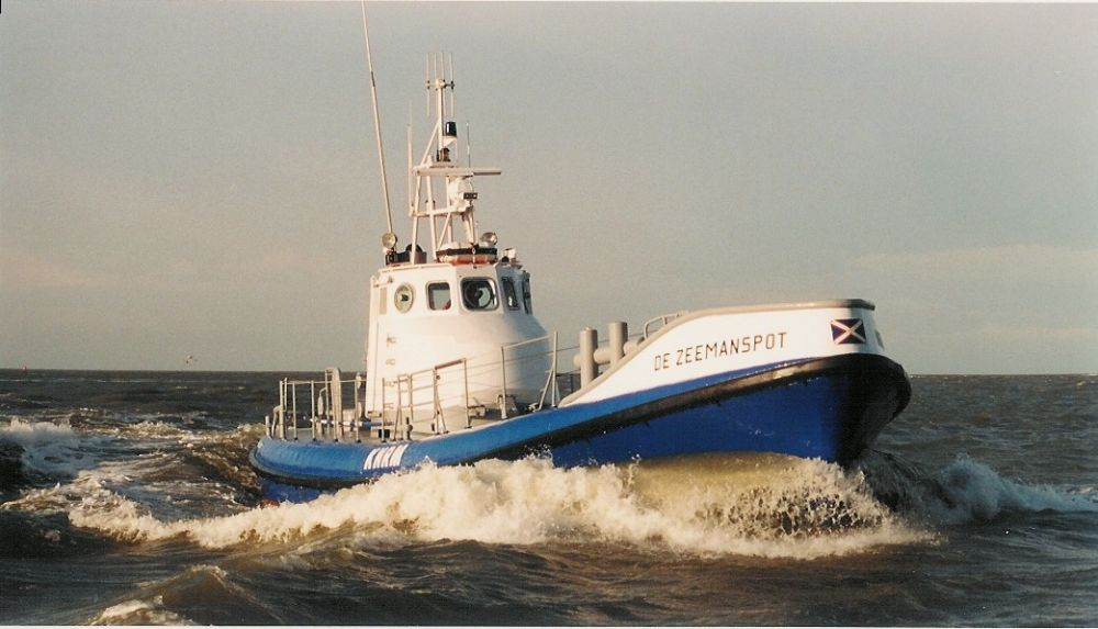 Reddingboot De Zeemanspot - Foto: Collectie KNRM