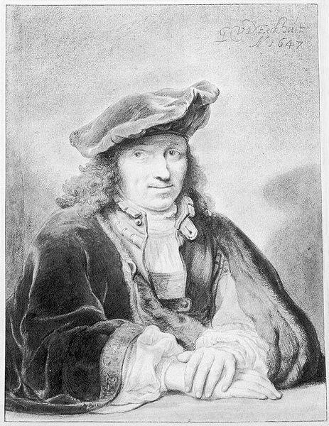 Zelfportret Gerbrand van den Eeckhout, 1647