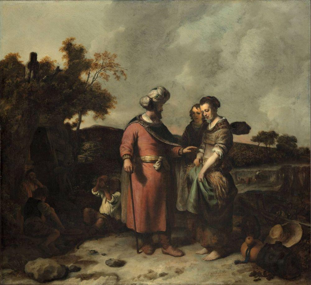 Ruth en Boaz, 1655