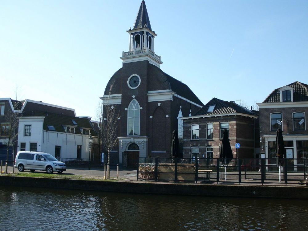 Karakteristiek kerkgebouw.