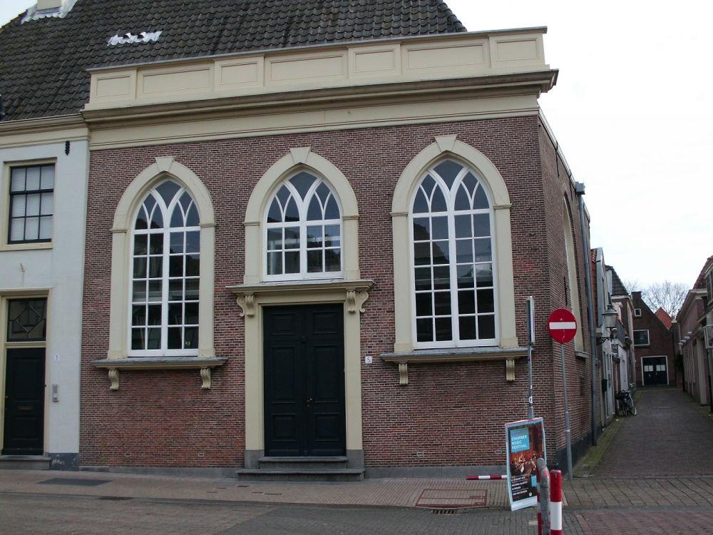 Synagoge van 1840-1942.