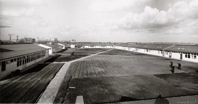 De barakken van Woonoord Atatürk