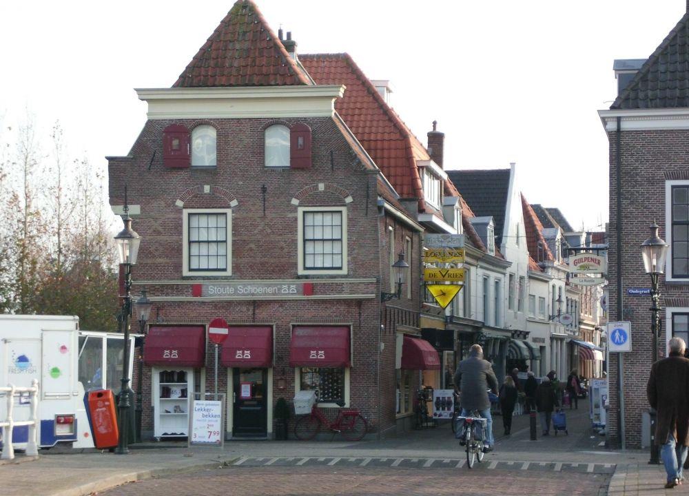 Winkelen in de Slijkstraat.