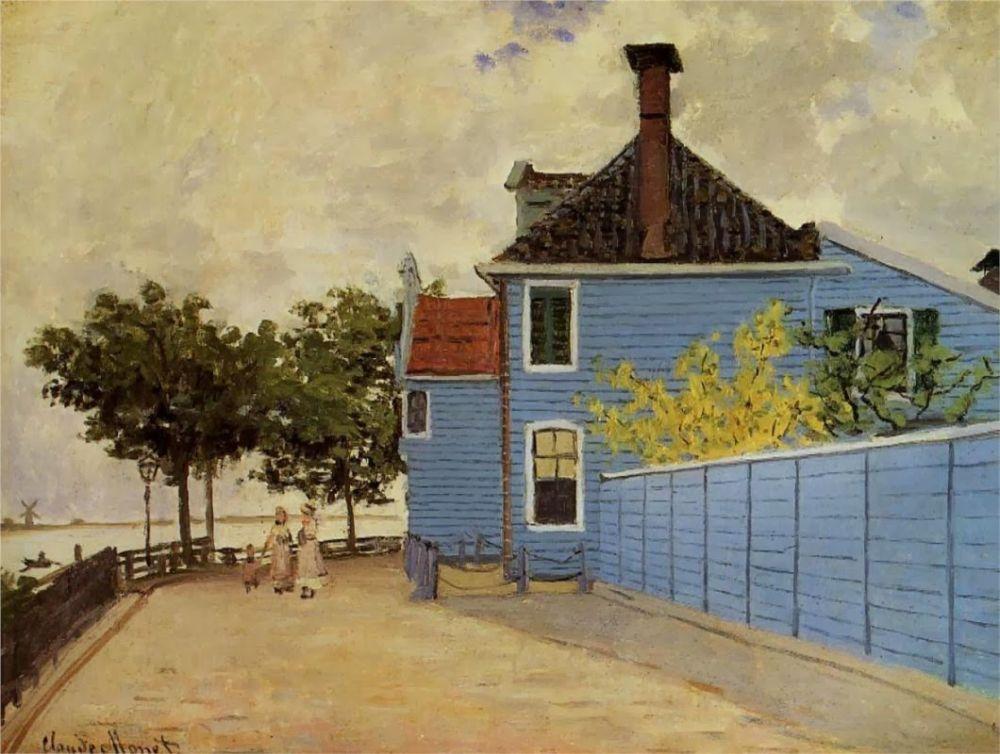 Het Blauwe Huis in Zaandam