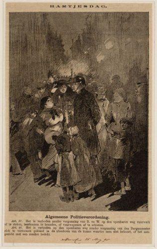 Algemene politieverordening bestemd voor Hartjesdag 1895