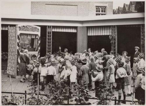 Poppenkast Vondelparkschool