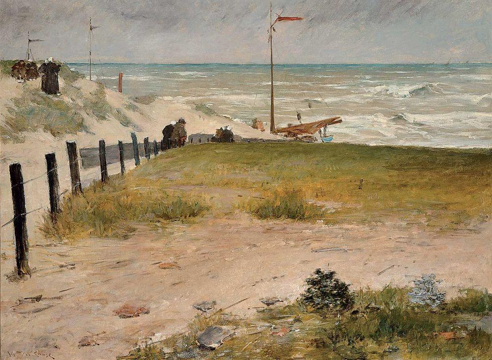 De Kust van Holland, William Merritt Chase