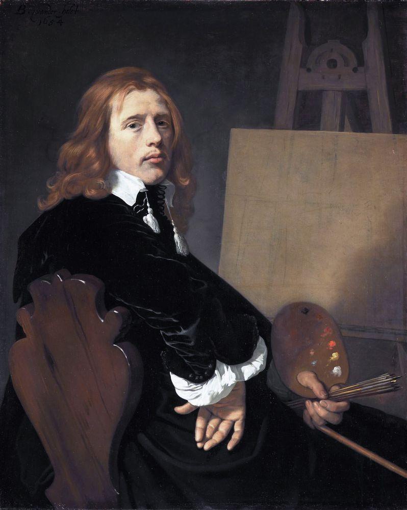Portret van Paulus Potter door Bartholomeus van der Helst