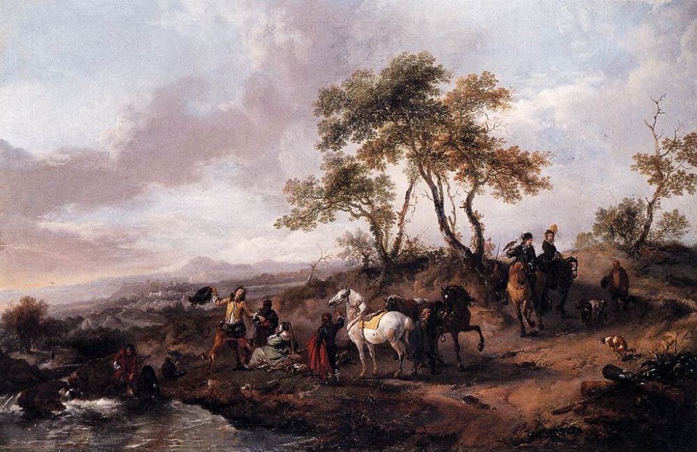 Halt of a Hunting Party