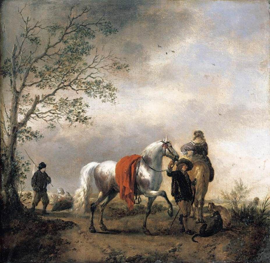 Uitzonderlijk Oneindig Noord-Holland | Philips Wouwerman (1619-1668) - Oneindig &OA14