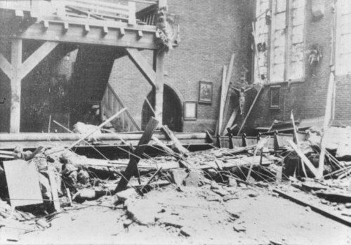 De enorme ravage in de Sint Ritakerk