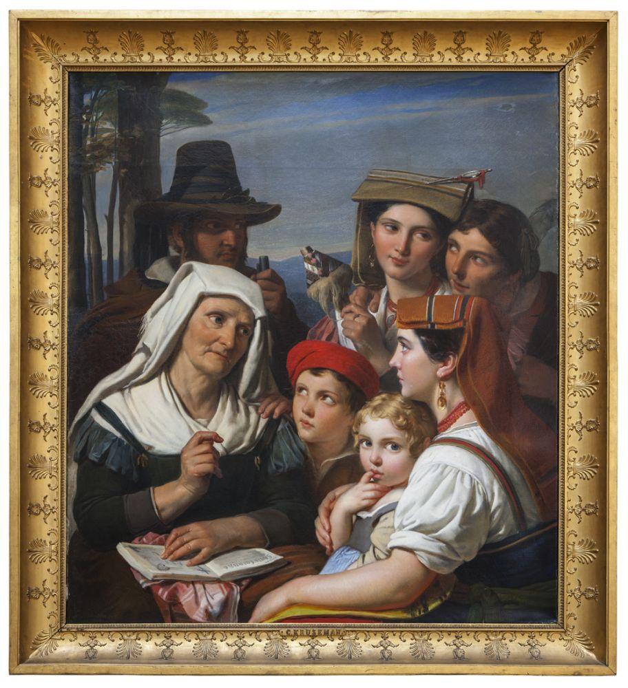 Cornelis Kruseman, De Legende, 1827