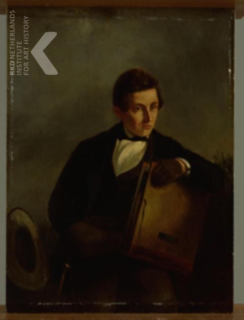 Jan Adam Kruseman, Portret van Jan Adam Kruseman, 1825-1849