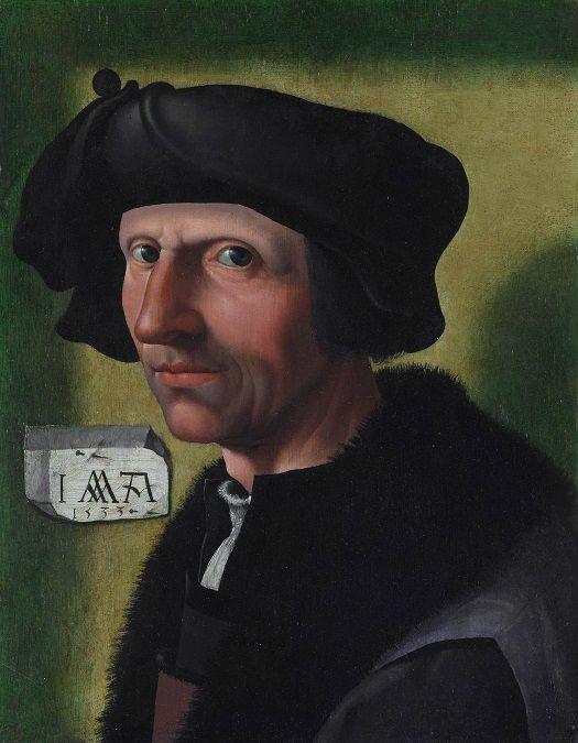 Zelfportret Jacob Cornelisz. van Oostsanen