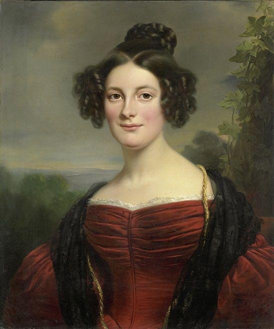 Portret van Catharina Annette Fraser (1815-1892)