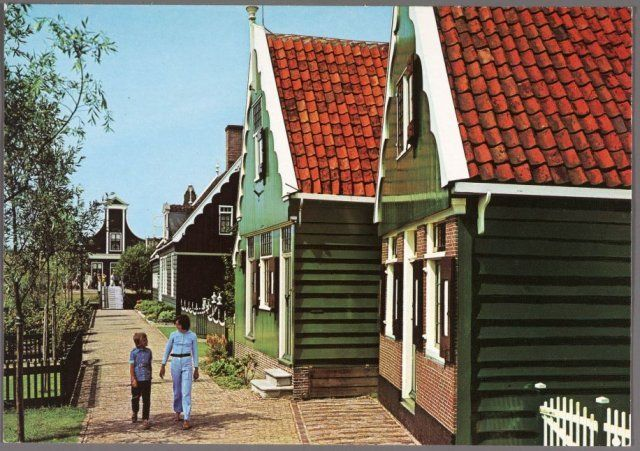 Zonnewijzerspad Zaanse Schans 1960