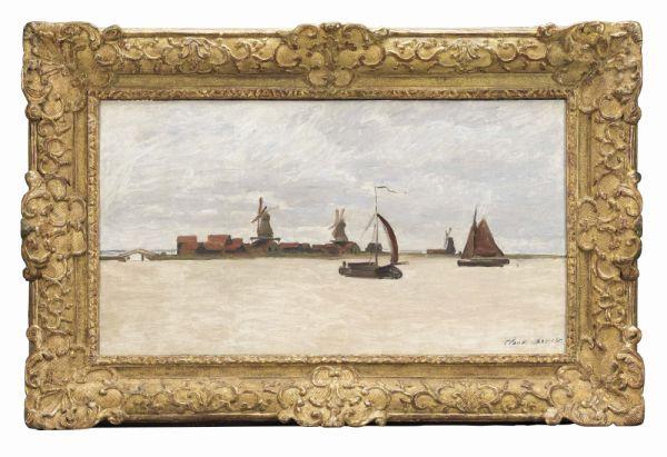 Het in juni 2015 aangekochte schilderij van Monet