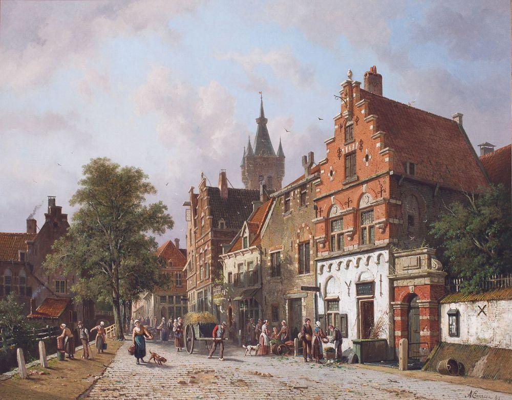 Stadsgezicht Delft