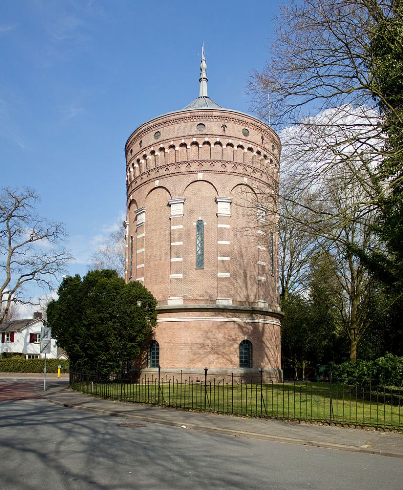 Oude watertoren op de Trompenberg, Hilversum