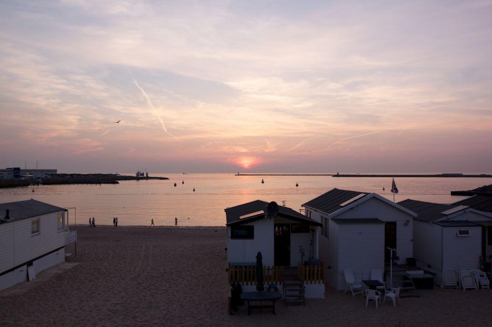 Zonsondergang IJmuiden aan Zee