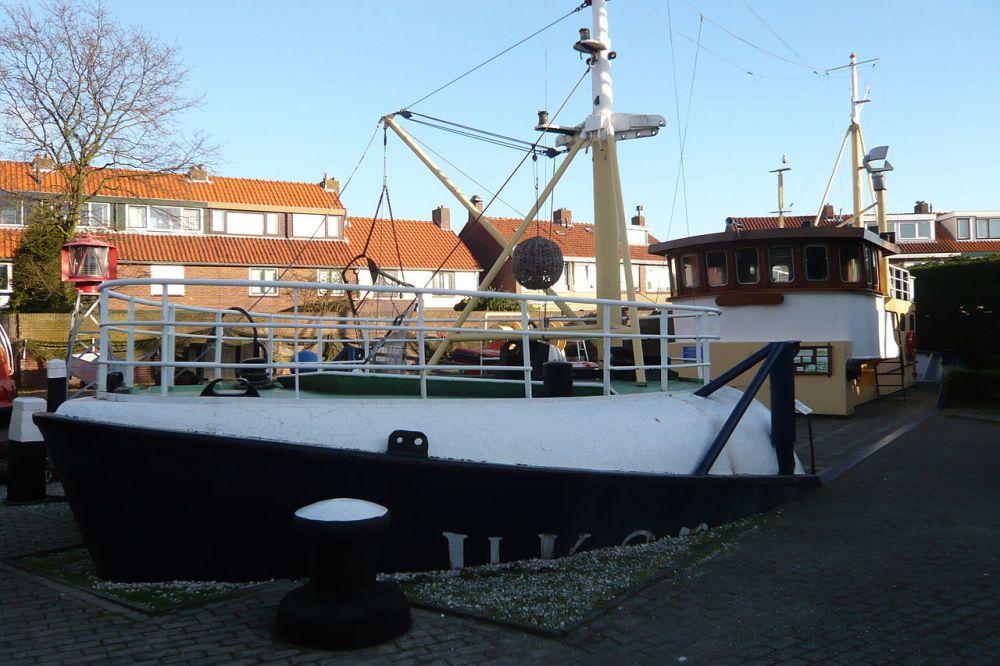 Bij het Zee- en Havenmuseum IJmuiden
